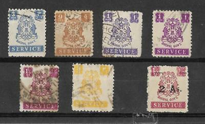 Bhopal, 1944 & 49 Officials, used