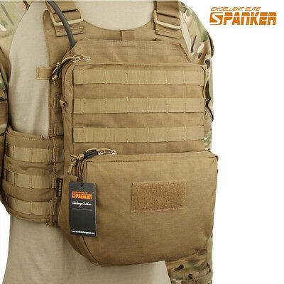 7cf553cf5ccd Tactical Molle Bag Climbing Pouch Outdoor Hiking Pack for Hydration System  Vest