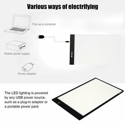 FLEIZ A4B A4 Paper Size Dimmable Painting Board LED Animation Copying Panel RF