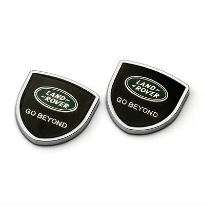 Car Rear Side Fender Stickers Emblems Badge Logo Accessories For Land Rover
