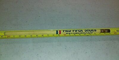 Vintage Pied Piper Shoes Halliburton's Oklahoma City Advertising Pencil