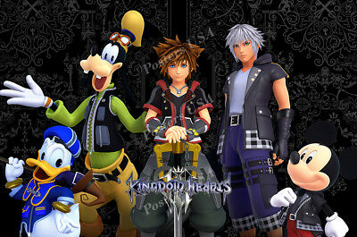 RGC Huge Poster - Kingdom Hearts III PS4 XBOX ONE Glossy Finish - NVG213