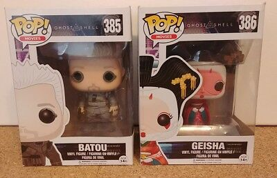 Funko Ghost in the Shell lot - Batou and Geisha