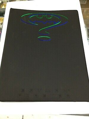 1995 Australia Dynamic Batman Forever Movie Card Official Album (+Album Card N5)