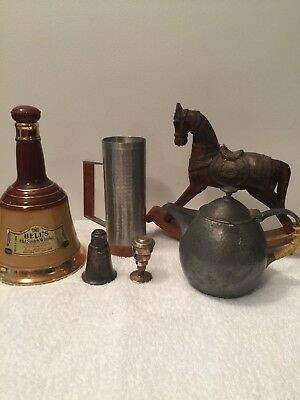 Bulk lot of random antique items