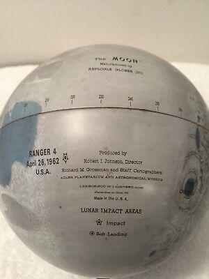 Antique Globe of the Moon