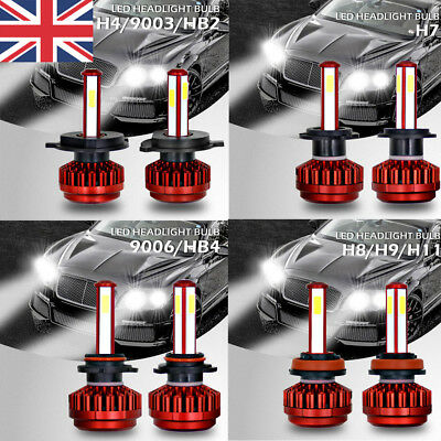400W 40000LM LED Headlight Kit H7/H4/H11/9006 Conversion 6000K XENON White Bulb