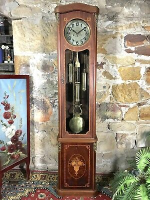 Antique Vintage Louis Style Grandfather Clock~Long Case