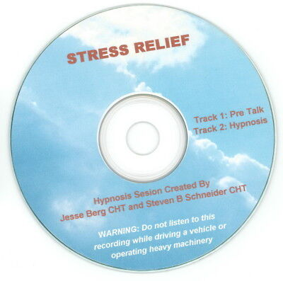 Stress Relief Self Hypnosis CD