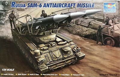 Trumpeter 1/35 Scale Sam 6 Anti Aircraft Missile