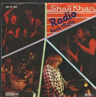 "2 SHAA KHAN Singles  Radio/  Rock Mafia 7"" + Someone... Bellaphon Records -"
