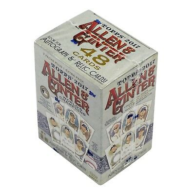 MLB baseball cards box: 2017 Topps Allen & Ginter Baseball 8-Pack Box ******