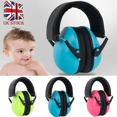 Childs BABY Ear Defenders Earmuffs Protection 0-24months Boys Girls Care