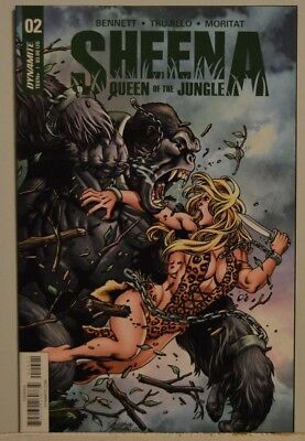SHEENA QUEEN OF THE JUNGLE #2 VF/NM (2017, Dynamite Entertainment)