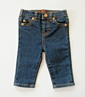 7 For All Mankind Jeans Size 3 / 6 Months Infant Baby Blue Denim