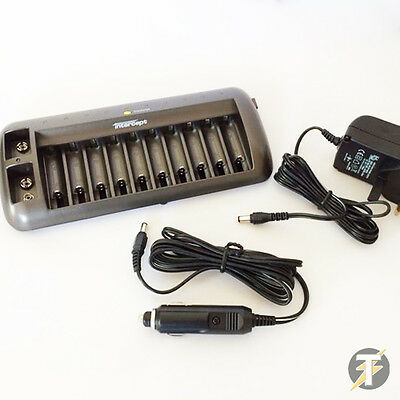LDMBC1 Intercept Ni-Cad/Ni-MH Battery Charger & Discharger - Up to 12 Batteries