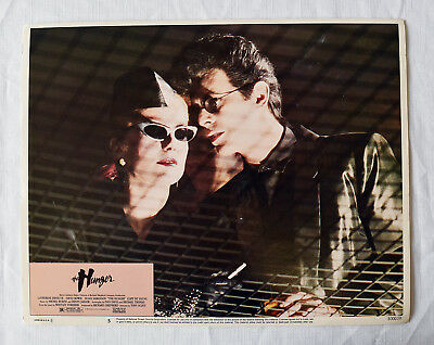 The Hunger: Super Rare Near Mint Complete Set Of Lobby Cards David Bowie