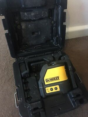 DeWalt DW088 2-way Self-Leveling Cross Line Laser Level