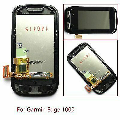 For Garmin Edge 1000 LCD Display Screen and Touch Screen Digitizer  With Frame