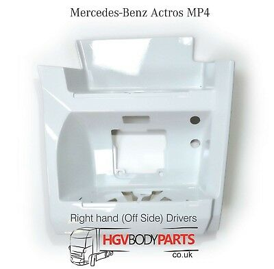 Mercedes Actros MP4 Step Housing Panel GigaSpace Drivers Side White Painted RH