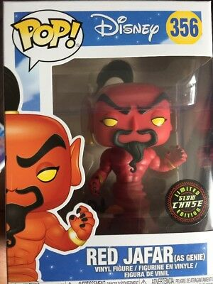 Disney Aladdin Pop! Vinyl Figure - Red Jafar (As Genie) Chase Edition *BRAND NEW