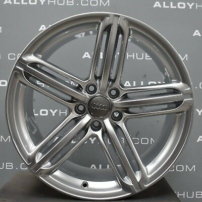 "Genuine Audi A5 8T Cabriolet/coupe 19"" Inch Segment Spoke Single Alloy Wheel X1"
