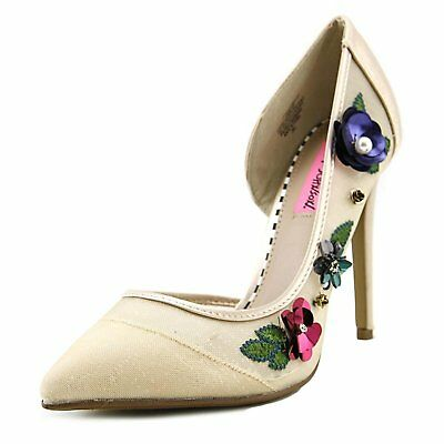 afd80dbd6087 BETSEY JOHNSON SHOES Mortica Goth Size 6.5 Suede Metal Scull ...
