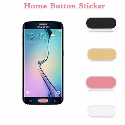 Home Button Sticker Touch Protection Skin for Samsung Galaxy S6 S7 Edge Lot