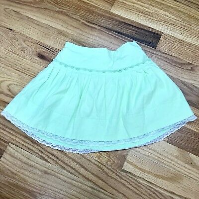 Girls Light Green Lined Skirt 3T Childrens Place AG