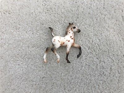 Retired Breyer Horse Stablemate #59979 Trotting Foal Leopard Appaloosa Set G2