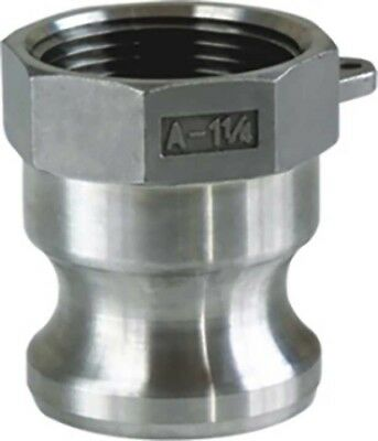 """Camlock Fitting Type A - 1/2""""  Stainless Steel 316"""