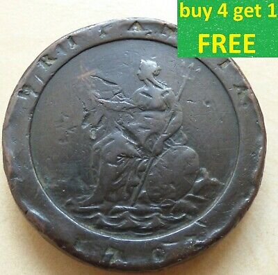 George III Cartwheel Twopence 1797 Choose your Coin each has own Pictures