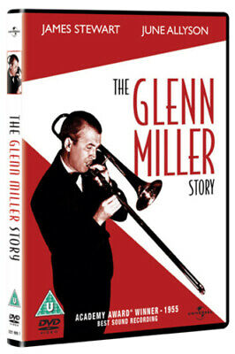 The Glenn Miller Story DVD (2005) James Stewart, Mann (DIR) cert U Amazing Value