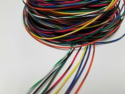 22 awg TXL HIGH TEMP AUTOMOTIVE POWER WIRE 11 SOLID COLORS 25 FT EACH 275 FEET