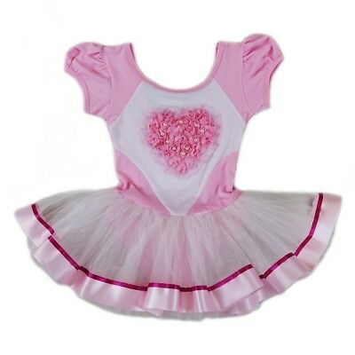 6-8 9-24M Wenchoice Girls Pink White Silver Music Notes Birthday Dress S -XL
