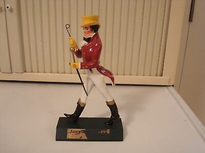 "Vintage Johnny Walker, Walking Man Store Display, 10 1/8"" Tall, Partial Label"