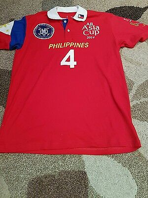 All Asia Cup 2014 Philipines 4 Shirt Large Unworn