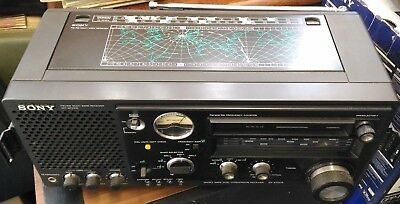 SONY FM/MW/SW1/SW2/SW3 Dual Conversion Receiver Model No ICF-6700W