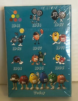 M&M's World Characters Timeline Playing Card New with Box Sealed