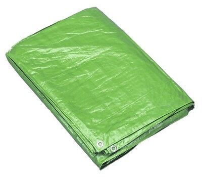 Sealey Tarpaulin 5.49 x 7.32mtr Green TARP1824G