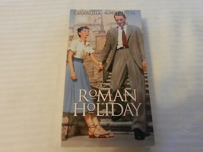 Roman Holiday (VHS, 1998) Gregory Peck, Audrey Hepburn