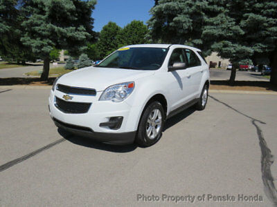 Chevrolet Equinox FWD 4dr LS FWD 4dr LS SUV Automatic Gasoline 4 Cyl WHITE