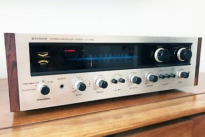 Pioneer SX-990 Vintage Stereo Receiver AM FM Tuner Amplifier w/Manual & More!