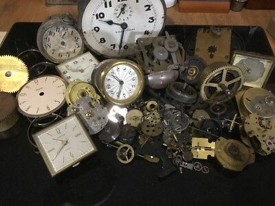 More Clockmakers Bottom Drawer Repair, Parts, Steampunk, Mixed Media