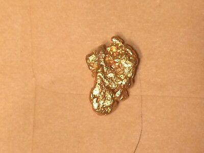 4.2 gram Alaska natural gold nugget  High grade pure gold