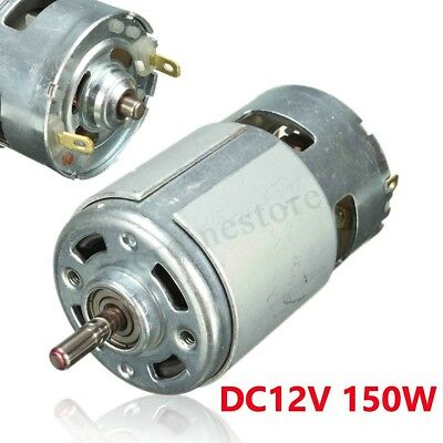 Large Torque Electric DC Brushless Motor 12V 150W 13000~15000rpm High Power 775
