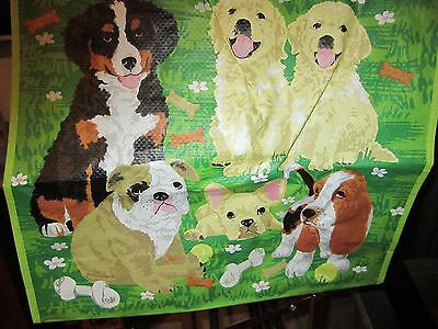 Basset Hound Bulldog Large 100% Recyclable Reusable Eco Shopping Tote Bag
