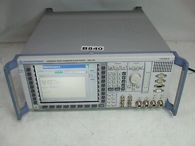 Rohde & Schwarz CMU200 Radio Communication Tester Spectrum Analyzer