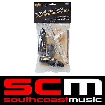 HERCO CLARINET CARE / MAINTENANCE KIT with ACCESSORIES