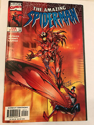 Amazing Spider-Man #431 Marvel Comic 1998 NM Cosmic Carnage/Silver Surfer